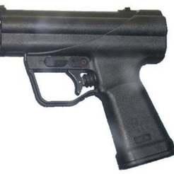 Descargar STL gratis H&K P11 (Puntal de Pistola Submarina), MuSSy