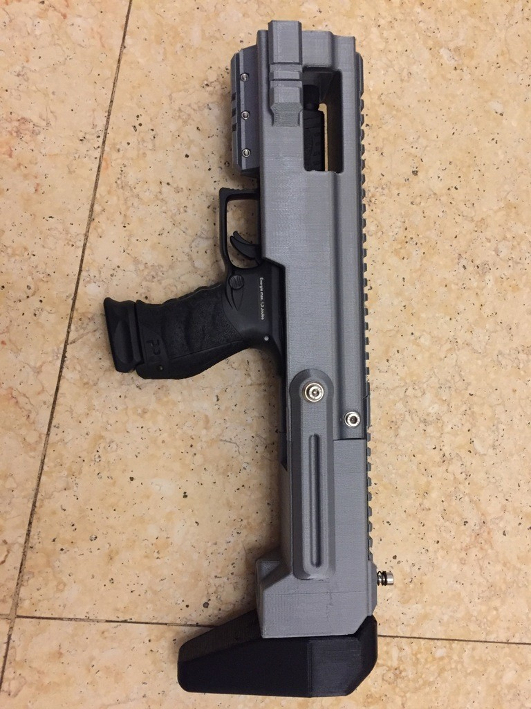 MINI & LARGE PDW (Airsoft Carbine Conversion Kit)
