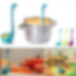 Modelo 3D Bronto cucharón (cocina) gratis, MuSSy