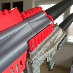 Free 3D printer files P-RAIL MICRO CLAMP, MuSSy