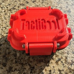 Free STL file TactiCool Box (waterproof), MuSSy