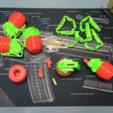 Impresiones 3D gratis Strawberry Grenade Flash-Bang (diseño de Mussy), MuSSy