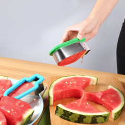 Free STL Watermelon Lolly Cutter, MuSSy