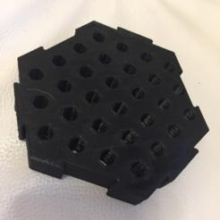 Objeto 3D Titulares de brocas hexagonales gratis, MuSSy
