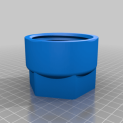 BARREL_NUT.png Download free STL file 300 BLACKOUT HS BLASTER (MOD56) • Model to 3D print, MuSSy