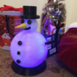 Capture d'écran 2018-01-02 à 15.15.28.png Download free STL file Glow In The Dark Snowman • Template to 3D print, MuSSy