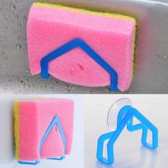 Objet 3D gratuit Porte-éponge (cuisine), MuSSy