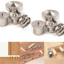 modelo stl gratis Dowel Pins Center Finder, MuSSy