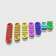 Capture d'écran 2018-01-16 à 09.35.19.png Download free STL file Magnetic Cable Organizers • 3D printable model, MuSSy