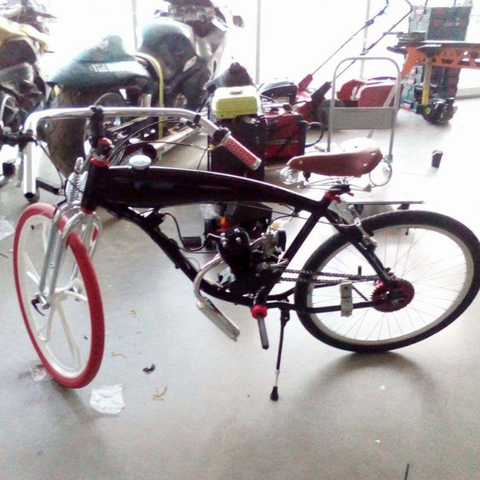 Free 3d Printer Model Motorized Bicycle Parts Cults
