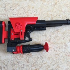 Free 3D printer model Monopod (P-Rail), MuSSy