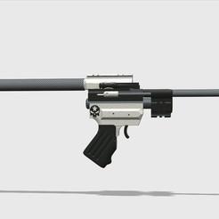 Descargar Modelos 3D para imprimir gratis Pistola para dardos venenosos Teaser ;) (OSS DRAGÓN VOLADOR), MuSSy