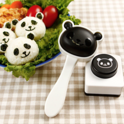 Free 3D printer model Panda Nori Rice Mold (KITCHEN), MuSSy