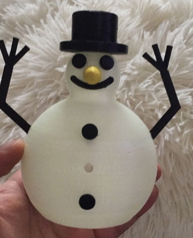 Capture d'écran 2018-01-02 à 15.16.03.png Download free STL file Glow In The Dark Snowman • Template to 3D print, MuSSy