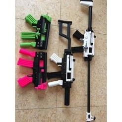 Download free 3D printing designs ZOMBIE SLAYER PDW, MuSSy