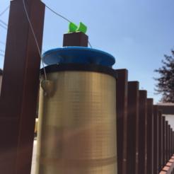 Modelos 3D gratis Trampa simple de la mosca doméstica, MuSSy