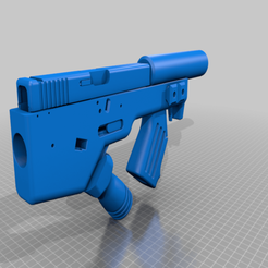 Download free 3D print files BULLPUP G19 LOWER, MuSSy