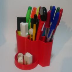 Descargar diseños 3D gratis Taza del lápiz (práctica & DESIGN), enzoruiz
