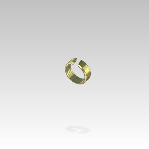 Free brass ring for PER pipe diameter 20 3D printer file, cultsjomo