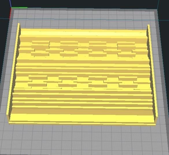 1.jpg Download STL file Sluice Box Plate • 3D printer object, altun22