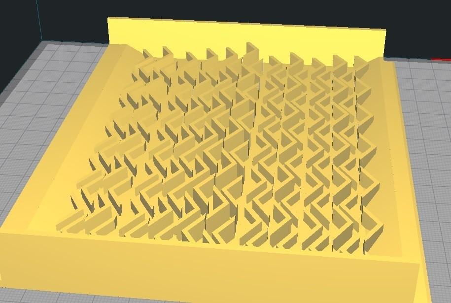 5.jpg Download STL file Sluice Box Plate • 3D printer object, altun22