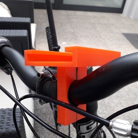 20180831_152309.jpg Download free STL file Stand Phone For Bike • 3D printing model, BrunoSilva