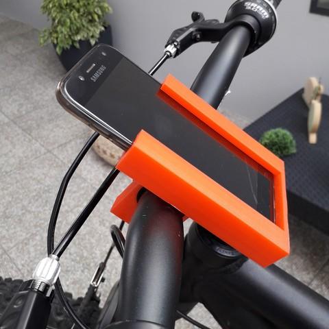 20180831_152219.jpg Download free STL file Stand Phone For Bike • 3D printing model, BrunoSilva