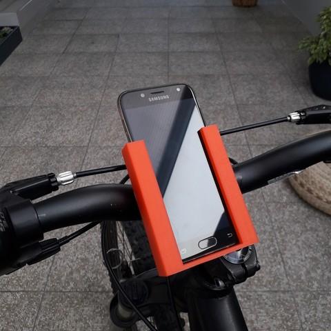 20180831_152213.jpg Download free STL file Stand Phone For Bike • 3D printing model, BrunoSilva