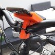 20180831_152226.jpg Download free STL file Stand Phone For Bike • 3D printing model, BrunoSilva