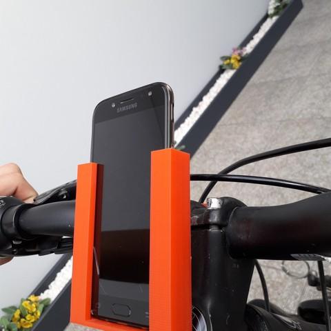 20180831_152244.jpg Download free STL file Stand Phone For Bike • 3D printing model, BrunoSilva