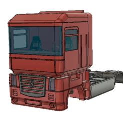 01.PNG Télécharger fichier STL Renault magnum 460 • Plan imprimable en 3D, semeivan