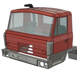 Télécharger plan imprimante 3D Tatra 815 Cabine, semeivan