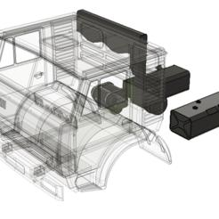 Descargar modelos 3D Conjunto de tanques y filtros Kamaz, semeivan