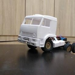 3D printer models Kamaz Euro Truck pack, semeivan