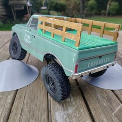 IMG_20201111_162833.jpg Download STL file Axial SCX24 Crawler Chevrolet chevy C10 bed cover Farm Truck version • Design to 3D print, lulu3Dbuilder
