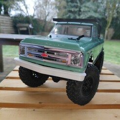 IMG_20210124_131254.jpg Download STL file Axial SCX24 Crawler Chevrolet chevy C10 front bumper • 3D print template, lulu3Dbuilder