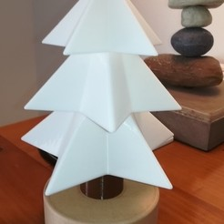 Free 3D print files Christmas Tree Sapin Noël flash, lulu3Dbuilder