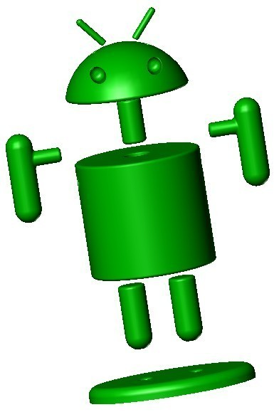 Android 2.jpg Download free STL file Android Man • 3D printer model, lulu3Dbuilder