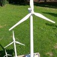 Download free 3D printing files Eolienne Wind turbine, lulu3Dbuilder