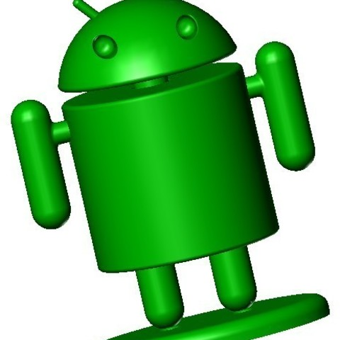 Android 1.jpg Download free STL file Android Man • 3D printer model, lulu3Dbuilder
