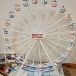 2019-02-17_193000.jpg Download free STL file Giant wheel / ferris wheel / grande roue wheel spoke inner section splitted into 2 parts • 3D printable template, lulu3Dbuilder