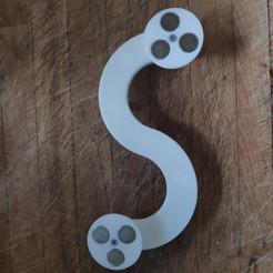 IMG_20190922_112006.jpg Download free STL file Key holder magnetic, porte clés magnétique • Template to 3D print, lulu3Dbuilder