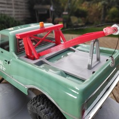 IMG_20201111_160947.jpg Download STL file Axial SCX24 Crawler Chevrolet chevy C10 Tow truck • 3D printable template, lulu3Dbuilder