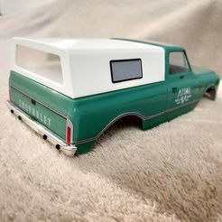 IMG_20201103_181809.jpg Download STL file AXIAL SCX24 Chevy C10 crawler small lightweight bed shell • 3D printer design, lulu3Dbuilder