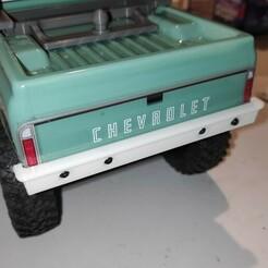 IMG_20210124_192735_1.jpg Download STL file Axial SCX24 Crawler Chevrolet chevy C10 rear bumper set • 3D printing design, lulu3Dbuilder