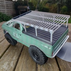 IMG_20201111_162241.jpg Download STL file Axial SCX24 Crawler Chevrolet chevy C10 bed cover with long Roof Rack Version • 3D printing object, lulu3Dbuilder