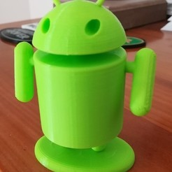 Free 3D print files ANDROID GUY, lulu3Dbuilder
