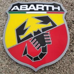 Descargar archivo 3D gratis Logotipo ABARTH signo insignia ecusson, lulu3Dbuilder