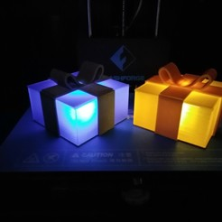 Download free 3D printing files Glowing Gift Box, ChristopheJolly