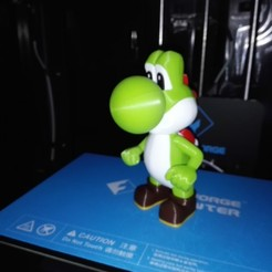 Free Yoshi from Mario games - Multi-color STL file, ChristopheJolly